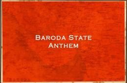 Baroda State Anthem