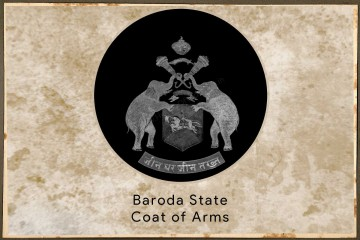 Baroda State Coat of Arms