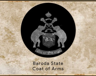 Baroda State Coat of Arms