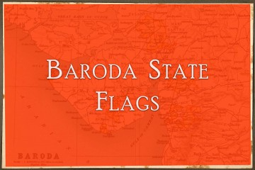 Baroda State Flags