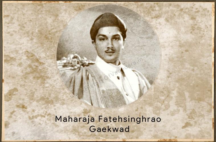 Maharaja Fatehsinghrao Gaekwad