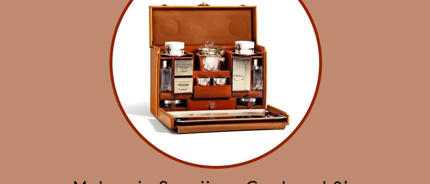 Maharaja Sayajirao Gaekwad 3 Tea Case by Louis Vuitton