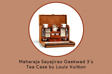 Maharaja Sayajirao Gaekwad 3 Tea Case by Louis Vuitton