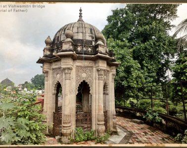 Stone Chhatri - Memorial of Father